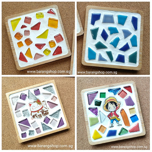 Mosaic Art Online Workshop - Cup Coaster