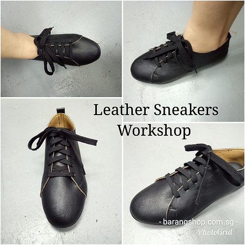 Leather Sneakers Shoemaking Workshop