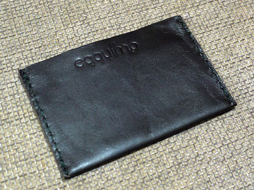 SIMPLE LEATHER CARD SLEEVE WORKSHOP