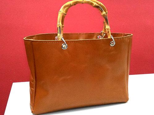 """CHLOE"" Bamboo Handle Leather Bag Workshop"