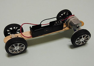 DIY MOTORISED TOY CAR KIT : F1 CAR #WWC002