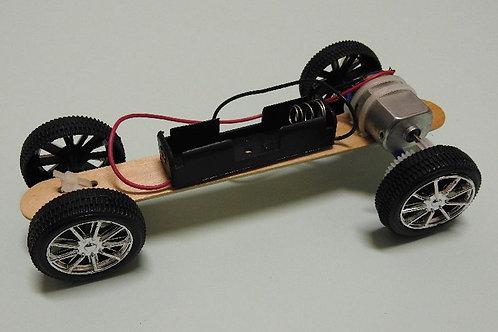 DIY MOTORISED TOY CAR KIT : F1 CAR #WWC002