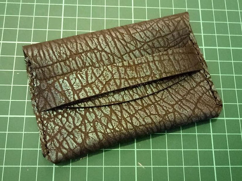 CHRIS Leather Notes/Card Holder