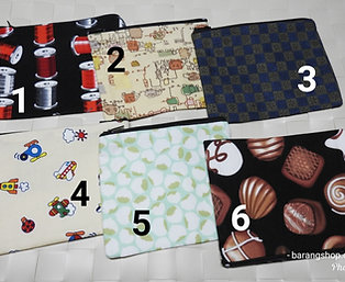 Fabric Zip Pouch