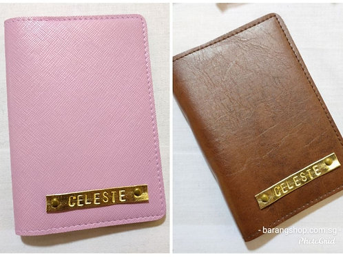 PU/Vegan Leather Passport Cover