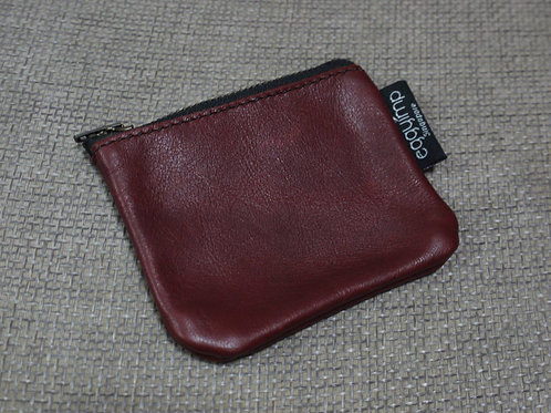 LEATHER ZIP COIN PURSE WORKSHOP