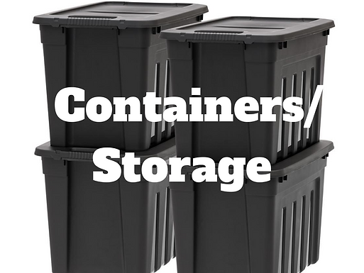 Containers/Storage