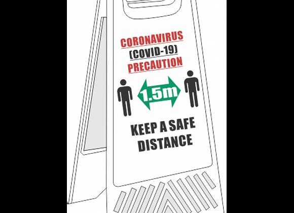 SSE038 - Keep A Safe Distance Floor Stand