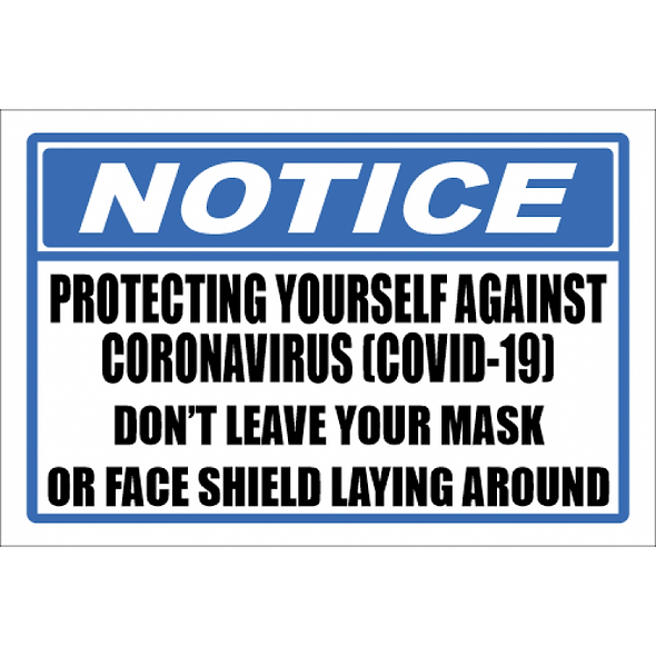 SSE045 - Notice - Protecting Yourself Sign