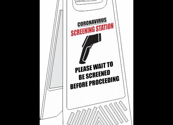 SSE061 - Screening Station Floor Stand