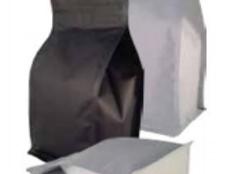 Matt White Flat Bottom Pouch - 250g with Valve