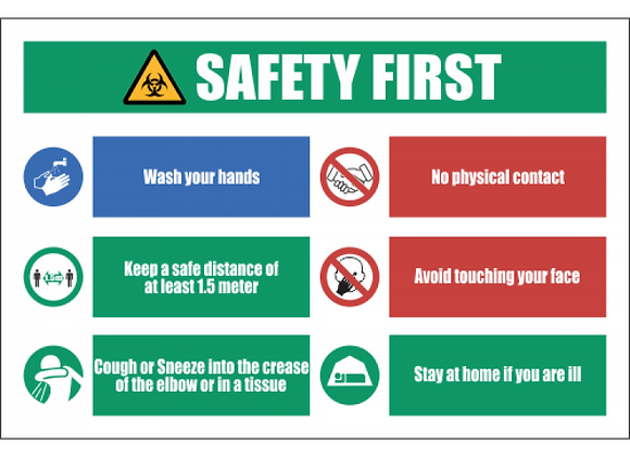 SSE057 - Safety Precaution Sign #4