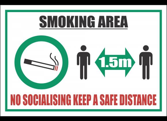 SSE065 - Smoking Area Sign #2