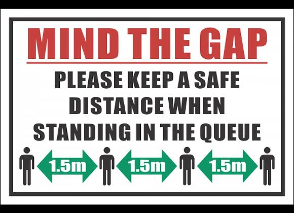 SSE077 - Mind The Gap Sign