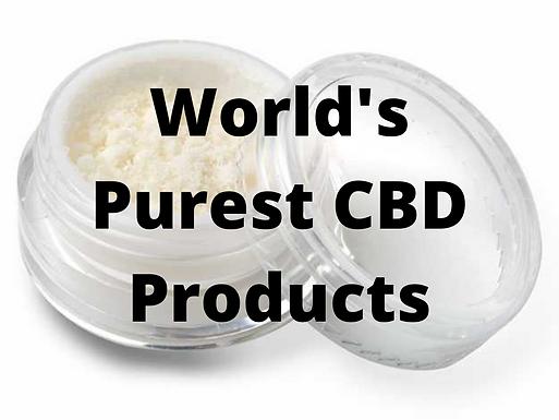 World's Purest CBD Products