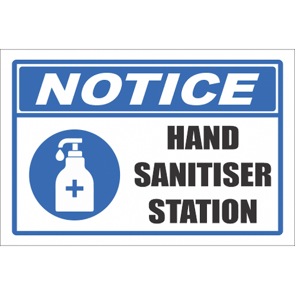 SSE032 - Hand Sanitiser Station Sign