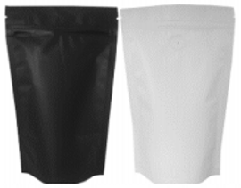 Black Coffee Pouch - 250g with Zipper