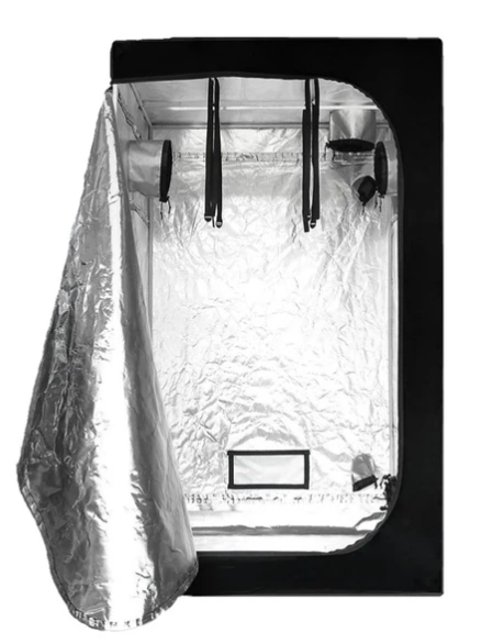 Reflective Indoor Grow Tent - 120x120x200cm