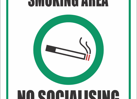 SSE064 - Smoking Area Sign