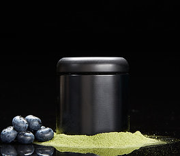 true blue berry matcha