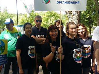Команда молодёжного совета Истринской районной организации профсоюза работников образования –участни