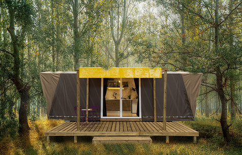 01 / GLAMPING TENT