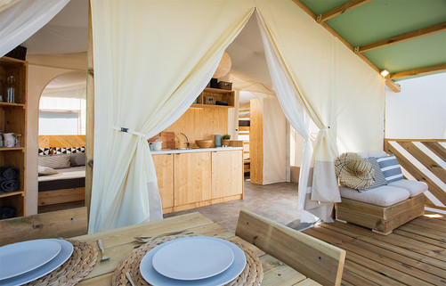 TREND LODGE / GLAMPING LODGE TENT & SUITE