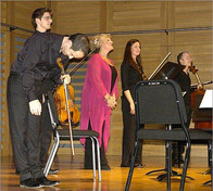 Kings Place, Tippett Quartet concert