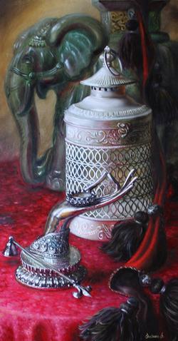 Lantarn with oliphant