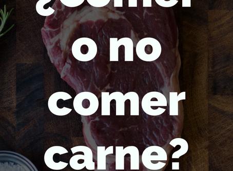 ¿Comer o no comer carne?