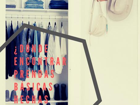 ¿Dónde encontrar prendas básicas hechas éticamente?