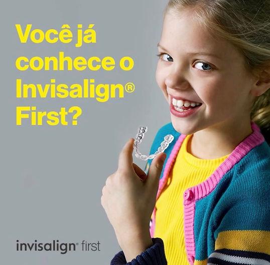 Invisalign para criança Recife Dra Franc