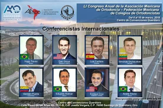 Dr. Eduardo Rothier - palestrante no Congresso Internacional de Ortodontia no México em Março de 2018. Clinica Rothier dentista Ipanema Barra da Tijuca Niteroi Icarai Pendotiba