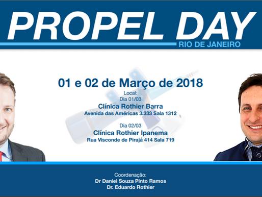 Propel Day – Comece o ano terminando o seu tratamento dentário ortodôntico mais rápido.