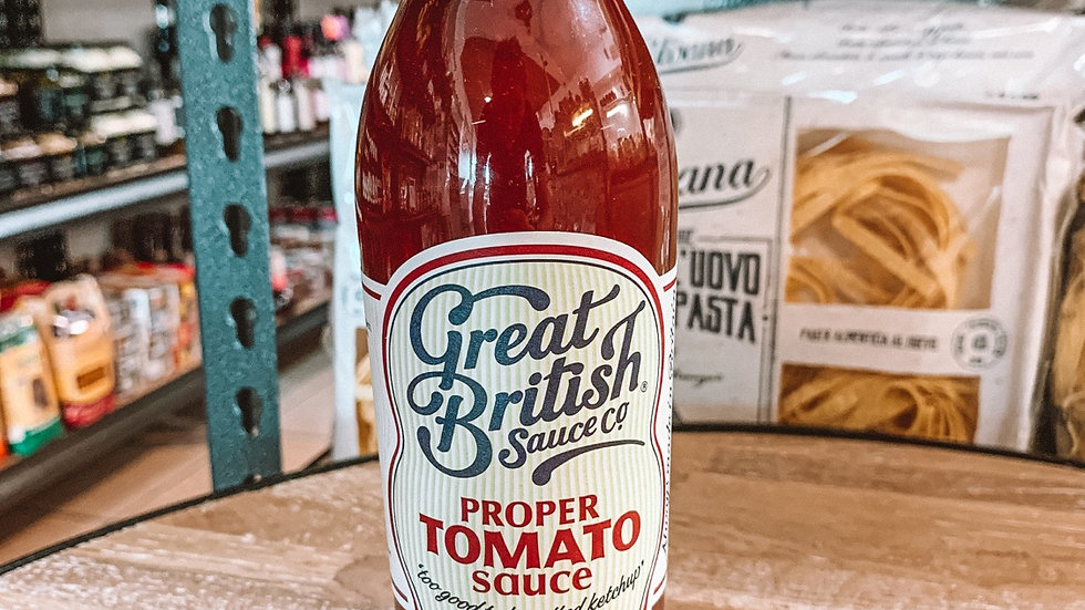 Great British co. Tomato sauce