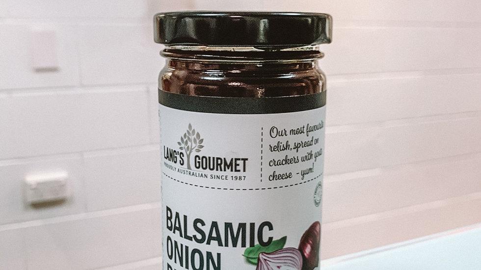 Balsamic Onion Relish