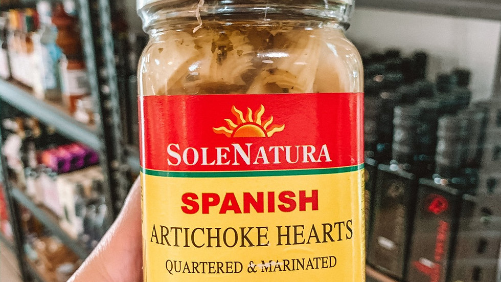 Spanish Artichoke Hearts
