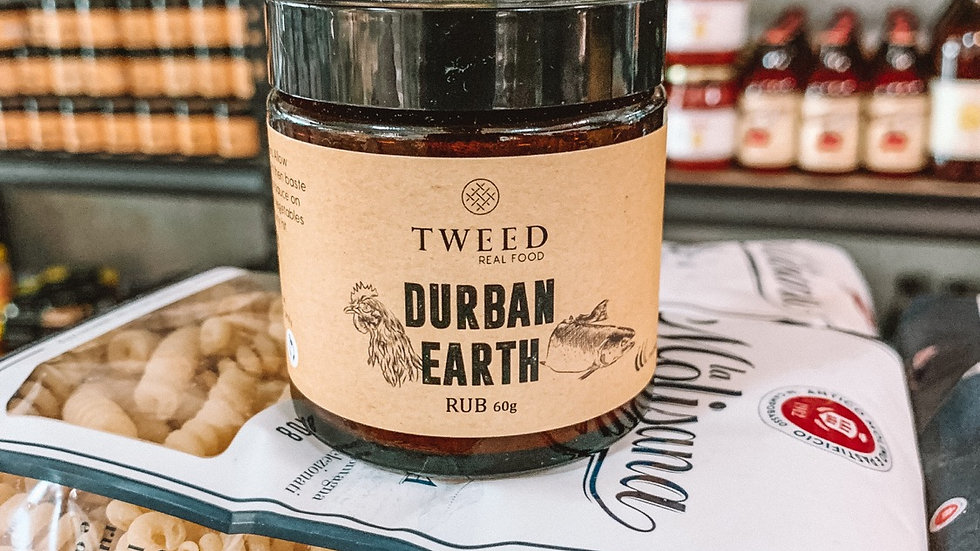 Tweed Durban earth rub