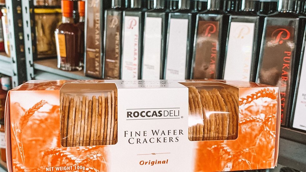 ROCCASDELI Fine Wafer Crackies Sesame & Poppyseed