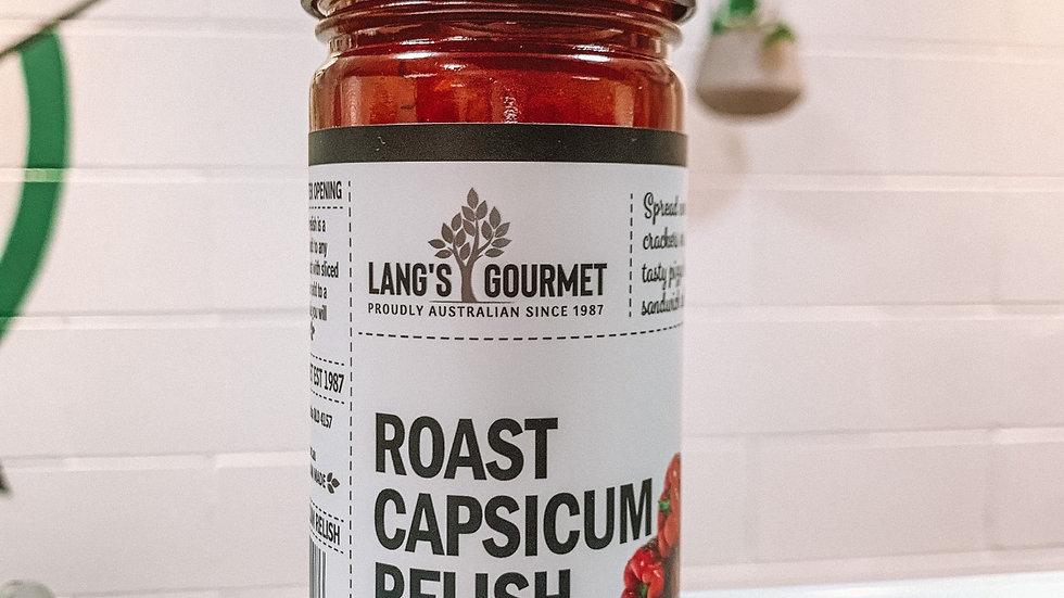 Roast Capsicum Relish
