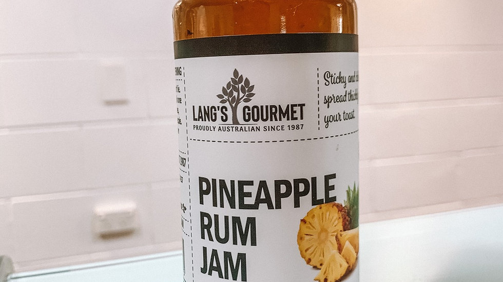 Pineapple Rum Jam