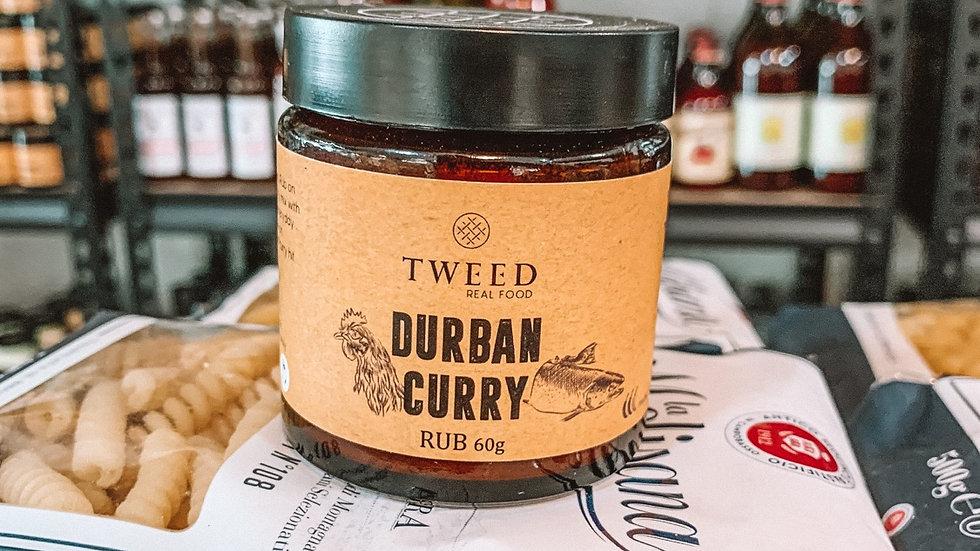 Tweed Durban curry rub