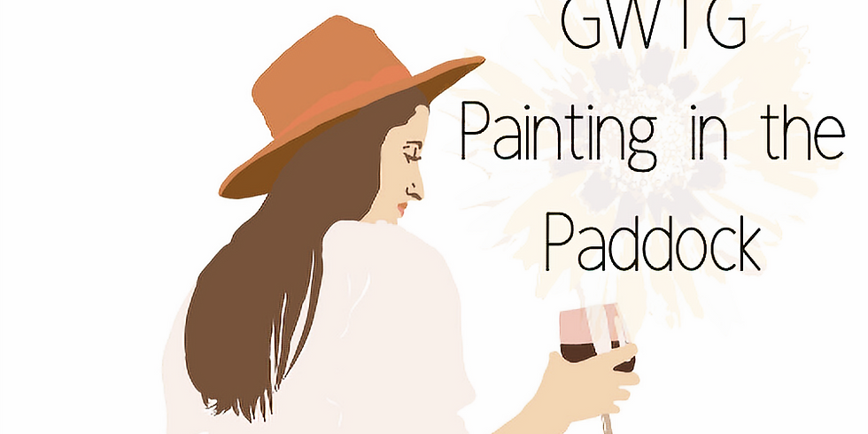 GWTG Painting in the Paddock Afternoon