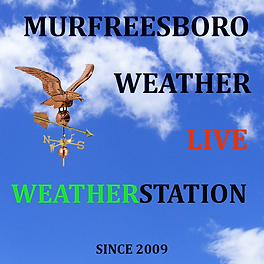 MurfreesboroWeatherLiveWeatherStationLog