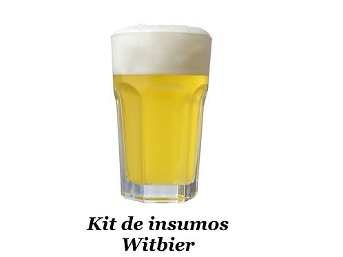 Receita Witbier - 20 litros