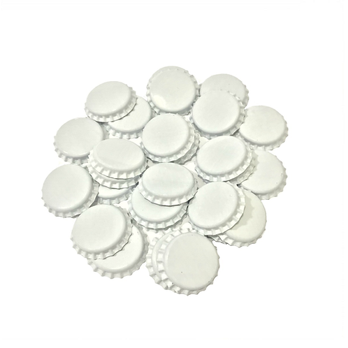 Tampinhas de garrafa Branca (PryOff)
