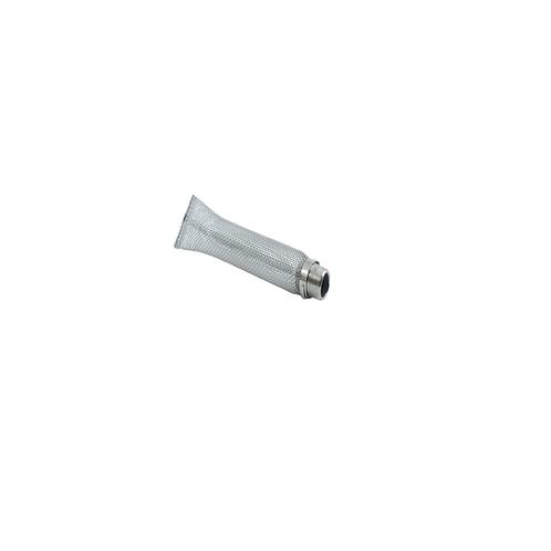 """Bazooka de inox 304 de 6"""" - 1 / 2""""mnpt, Tela 16"""