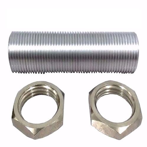 Prolongador de chopeira em alumínio + porca