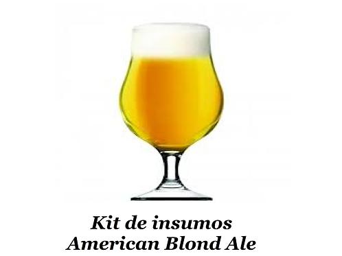 Receita American Blond Ale - 20 litros