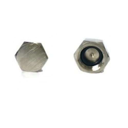 Tampa de carbonatação para válvula extratora niquelado